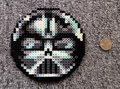 Long Black Fingers : Darth Vader And Boba Fett Perler Bead Coasters