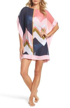 Free shipping and returns on Ted Baker Mississippi Print Cover-Up Dress at Nordstrom.com. Stay cool on even the hottest days in this chevron-print tunic dress that doubles as a stylish swim cover-up.