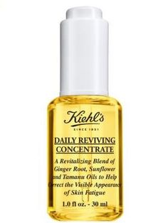 Following the 2010 launch of its award-winning and best-selling Midnight Recovery Concentrate, Kiehl's Since 1851 has announced the launch of its Daily Reviving Concentrate. Supporting the skin's daytime defenses, the oil helps to revitalise the skin and reduce the signs of fatigue, using a blend of natural ingredients.