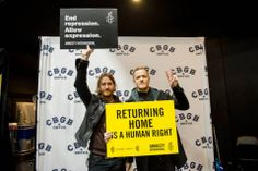 Imagine Dragons for Amnesty International