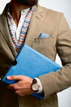 love the pattern combination , MenStyle1- Men's Style Blog