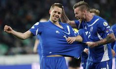 Iceland Euro 2016 team guide: tactics key players and expert predictions Key Player, Uefa Euro 2016, European Championships, European Football, Beckham, Iceland, Chef Jackets, Kicks, Polo Ralph Lauren