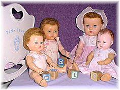 Betsy Wetsy Tiny Tears Doll
