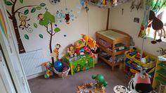 Jungle room! Jungle Room, Small World Play, Imaginative Play, Room Themes, Bedroom, Baby, Room, Bed Room, Newborn Babies