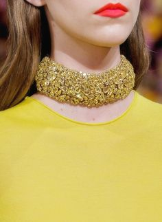 wink-smile-pout: Christian Dior Haute Couture Fall 2012 Jewelry details