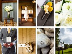 like the vignette shots and creative use of the textures at the venue as background