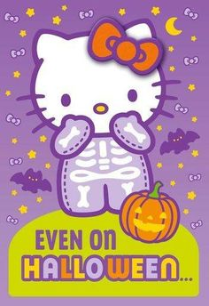 Hello Kitty / Even On Halloween - Tap the link now to see all of our cool cat collections!