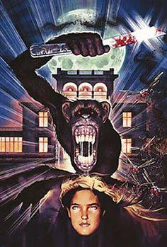 """Poster for Dario Argento's """"Phenomena"""""""
