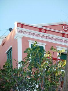 Pink house Symi