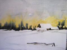 Winter  36 x 47 cm      70,00 €