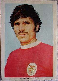 Jaime Graça Good Soccer Players, Football Love, Vintage Posters, Portugal, Baseball Cards, People, Canoeing, Legends, Volleyball