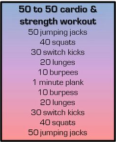 quick and sweaty at home circuit workout...love these right now as I am training for my Tough Mudder!