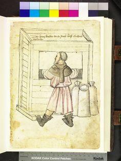 Mendel Housebook, Amb. 317.2° Folio 31 recto, c 1425, Nuremberg (Nürnberg)