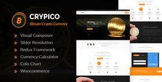 #Crypico - #Crypto Currency WordPress Theme - #Technology WordPress