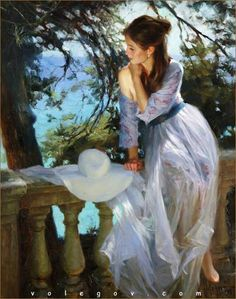 COSTA BRAVA DREAM by Vladimir Volegov. 92x73cm oil on canvas. May 2015