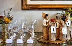 blind wine tasting - my favorite bridal shower game