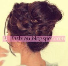 طريقة عمل تسريحات شعر طويل سهلة   Dz Fashion