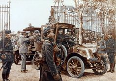 Taxis of the Marne. General Galieni requisitioned the Renault taxis of Paris to take the troops to the front in 1914. The battle effectively ended the month long German offensive that opened the war and had reached the outskirts of Paris.