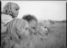 Sting with family by Fabrizio Ferri