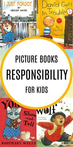Begin teaching children to empower themselves with these Childrens Books about Responsibility. children love responsbility when they learn the joy of it. Read Aloud Books, Good Books, Elementary Counseling, Career Counseling, Elementary Schools, Character Education, Physical Education, Special Education, Social Emotional Activities