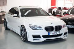 BMW 7-series. Yes one day I will have one of these