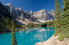 JSPuzzles - Jogue quebra-cabeças online - Lake Moraine, Banff National Park…