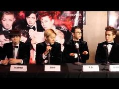 Block B Showcase Live in the US--Press Conference