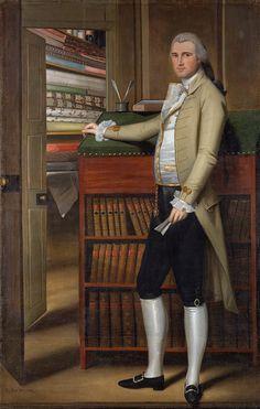 Ralph Earl (American, 1751–1801). Elijah Boardman, 1789. The Metropolitan Museum of Art, New York.