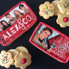 Biscotti decorati in pasta di zucchero Alex e co.