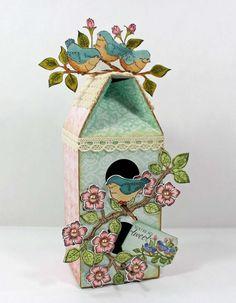 Heartfelt Creations Birdhouse