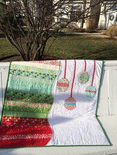 Custom Child Christmas Quilt on Etsy, $65.00