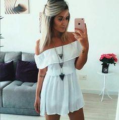 vestido-ciganinha-babado-branco-soltinho-curto-comprar Mais
