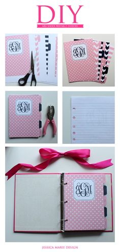 Free Printable Dividers for your mini binder!