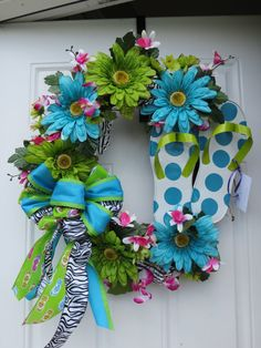 """Hey, I found this really awesome Etsy listing at <a href=""""http://www.etsy.com/listing/160354906/flip-flop-wreath"""" rel=""""nofollow"""" target=""""_blank"""">www.etsy.com/...</a>"""
