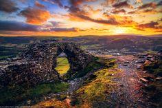 Crow Castle, Wales