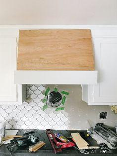 Modern Interior, Home Interior Design, Modern Decor, Range Hood Cover, Range Hoods, Kitchen Vent Hood, Custom Range Hood, Kitchen Redo, Kitchen Remodel