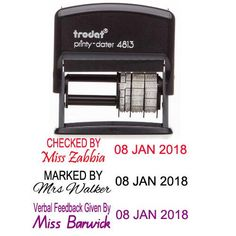 personalized name and date stamp teacher signature stamp custom teacher name stamp custom teacher name and date stamp teacher gifts stamp Teacher Name, Teacher Stamps, Class Teacher, Teacher Gifts, Signature Stamp, Teachers Aide, Classroom Organisation, Good Morning Inspirational Quotes, English Classroom