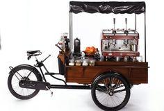 coffee bike Romania