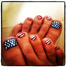 4th of July 2014 Nails Pinterest, Tumblr Designs Pictures, Images, Photos