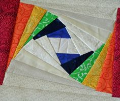 DESI QUILTERS: Nikhat's Twisted Log Cabin LAL - Excellent tutorial ... : twisted log cabin quilt - Adamdwight.com