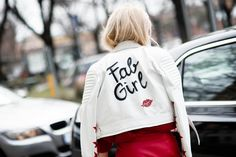 You like my jackets? It's part of our Fabulous Girl Power collection by ! Diana, All About Fashion, Supergirl, Girl Power, Cool Girl, Muse, Ideias Fashion, High Fashion, Vogue