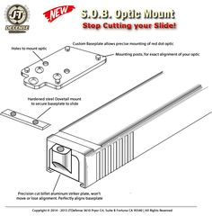 New Red Dot Optic mount for Springfield XD Series