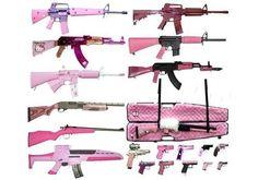 pink guns - Google Search