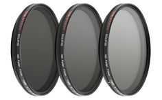 77mm Genustech Eclipse Fader ND filter. - 77mm Genustech Eclipse Fader ND filter. This 77mm variable neutral density filter easily rotates to fine tune the amount of light entering your lens. The Eclipse ND Fader  has approximately 2 to 8 stops of density. The use of new laser technology ensures superior colour fidelity and sharpness when compared to competing products. The Genustech Eclipse ND Fader redefines the price point for a quality variable ND filter.
