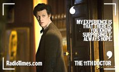 Doctor Who quotes to live your life by - from The Doctor to Rose Tyler to Amy Pond
