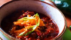 How To Make Texas Roadhouse Chili So Simple To Make . Texas Red Chili Made From Scratch Recipe Topped With . Home and Family Oven Chicken Recipes, Shredded Chicken Recipes, Texas Roadhouse Chili Recipe, Thick Chili Recipe, Spaghetti Beef Recipe, Chicken Salad With Walnuts Recipe, Chili Recipe Food Network, Best Appetizer Recipes, Chilli Recipes