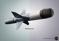 Words kill wars 4(@)Afaqs!