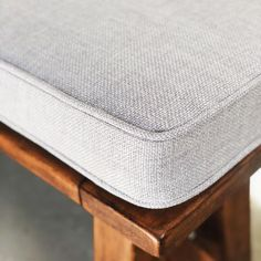 Home decor. Indoor and Outdoor cushions. Bench Seat Cushions, Outdoor Cushions, Study Nook, Reading Nook, Yoga Studio Design, Textiles, Window Seats, Chair Covers, Conservatory