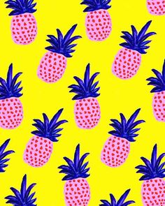Colorful Pineapples II.