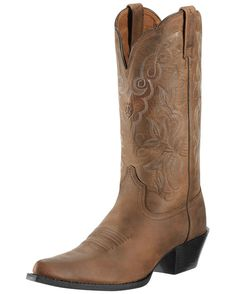 Women's Heritage Western J Toe Boot - Distressed Brown.. I have ordered these from Country Outfitter, hope to get them before xmas